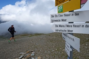 Irontrail 2014, Lunghinpass
