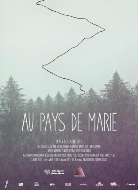 Affiche  Au Pays de Marie - copie