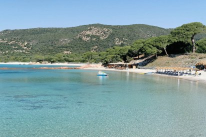 plage corse palombaggia