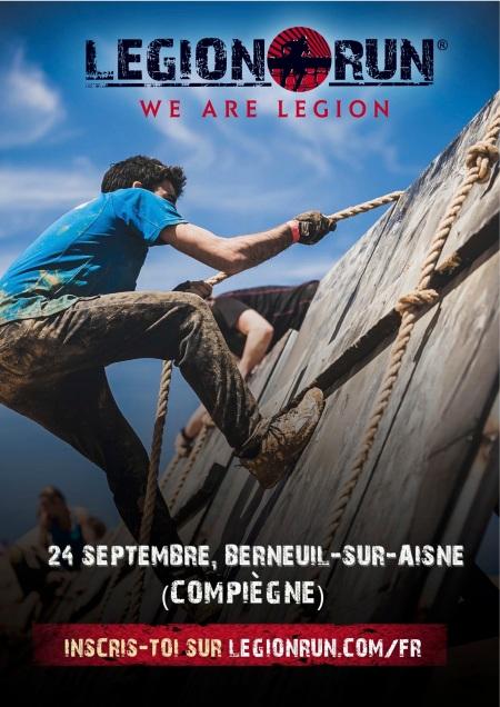 Affiche Legion Run
