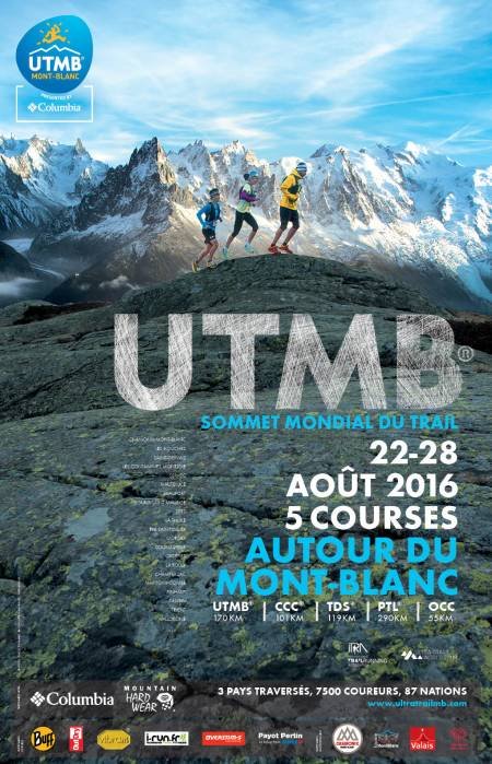 Affiche UTMB® 2016 FR © UTMB® - Pascal Tournaire & Explorations